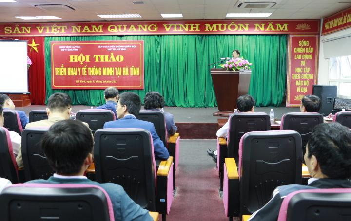 Hội thảo triển khai y tế thông minh
